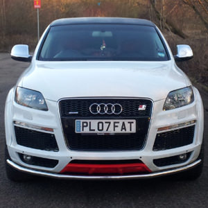 Audi Q7 Limousine Hire throughout London and the South East