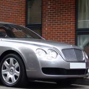 Complete comfort and luxury from our Grey Bentley Flying Spur available throughout London