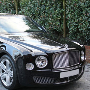 Black Bentley Mulsanne for hire throughout London