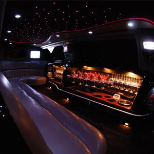 Our Black Ford Excursion Limousine