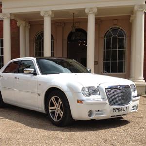 Our White Chrysler 300c Saloon