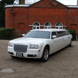 Our White Chrysler Saloon