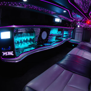 Our Silver Chrysler 300c Limousine