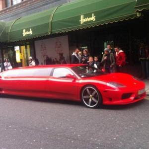 Our Ferrari Limousine