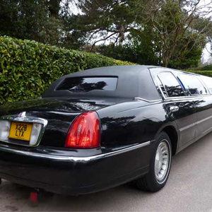 Our Black Lincoln Town car