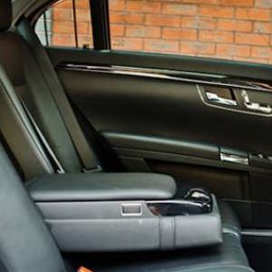 Our Black Mercedes S Class