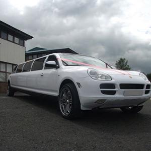 White Porsche Limousine Hire