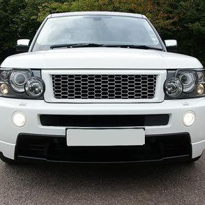 White Range Rover Limousine
