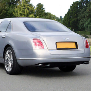 Our Silver Bentley Mulsanne