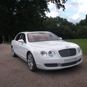 Our White Bentley Flying Spur